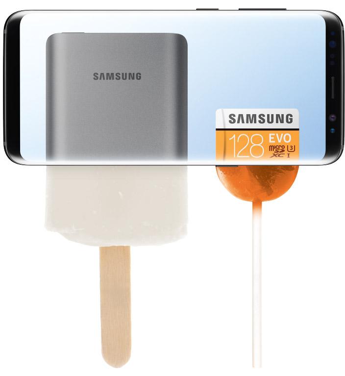 K nákupu Galaxy S8 | S8+ vám přidáme powerbanku a 128GB microSD kartu