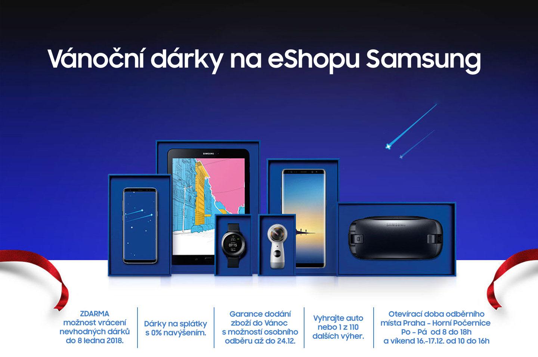 Vánoční dárky na eShopu Samsung