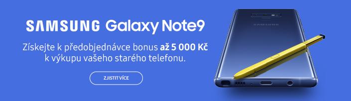 Samsung Galaxy Note9 předobjednávky