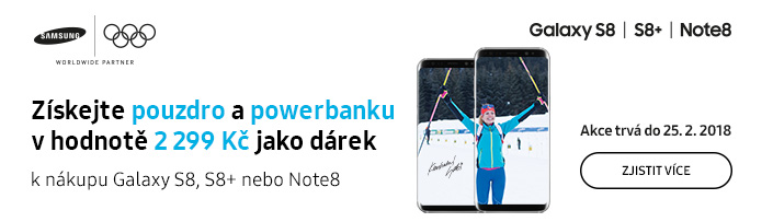 Olympijské promo - S8 / Note8