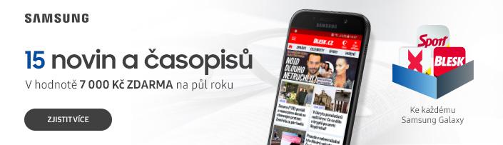 15 novin a časopisů v hodnotě 7 000 Kč na půl roku ZDARMA!