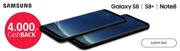 Cashback 4000Kč S8 / S8edge / note8