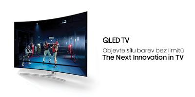QLED TV - Objevte sílu barev bez limitů