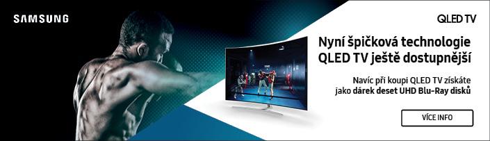 Užijte si filmové léto s QLED TV