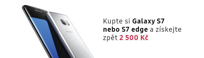 Kupte si Galaxy S7|S7 Edge a získtejte zpět 2 500 Kč