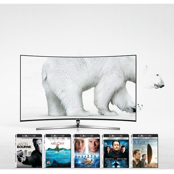Kupte si Premium UHD TV nebo Blu-ray přehrávač a získejte až 5 titulů dle vlastního výběru na blu-ray discích