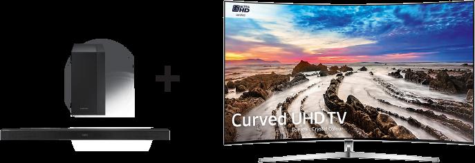 Soundbar Samsung K450 v hodnotě 5 490 Kč k UHD TV Samsung zdarma